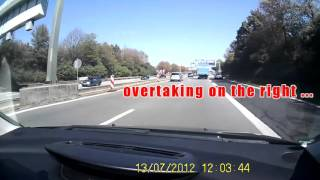 Bad Driving in Germany [Traffic violations and more!]