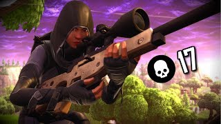 NEW SENS - SOLID SNIPES (17 Kill Solo) Console Player | Fortnite Battle Royale