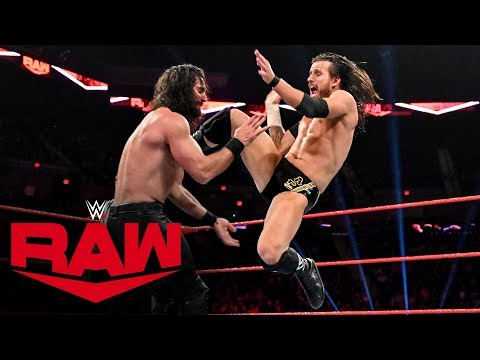 Adam Cole vs. Seth Rollins – NXT Championship Match: Raw, Nov. 4, 2019