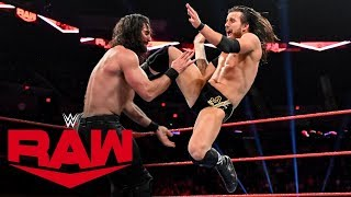 Adam Cole vs. Seth Rollins – NXT Championship Match: Raw, Nov. 4, 2019