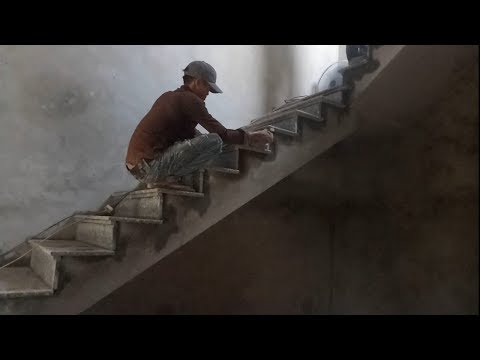 Smart Techniques Construction Amazing Indoor Stairs - Technologies Build Stairs Stone