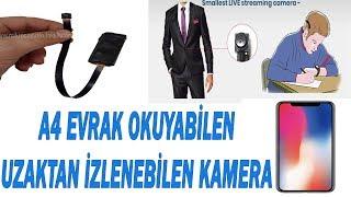 Uzaktan izlenebilen gizli kamera kurulumu (iphone) 02125110331 05061011038