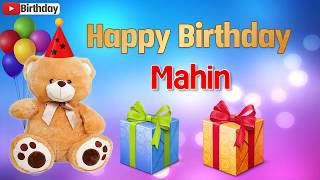 Happy birthday Mahin