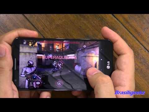 LG G2 - Teste de Jogos