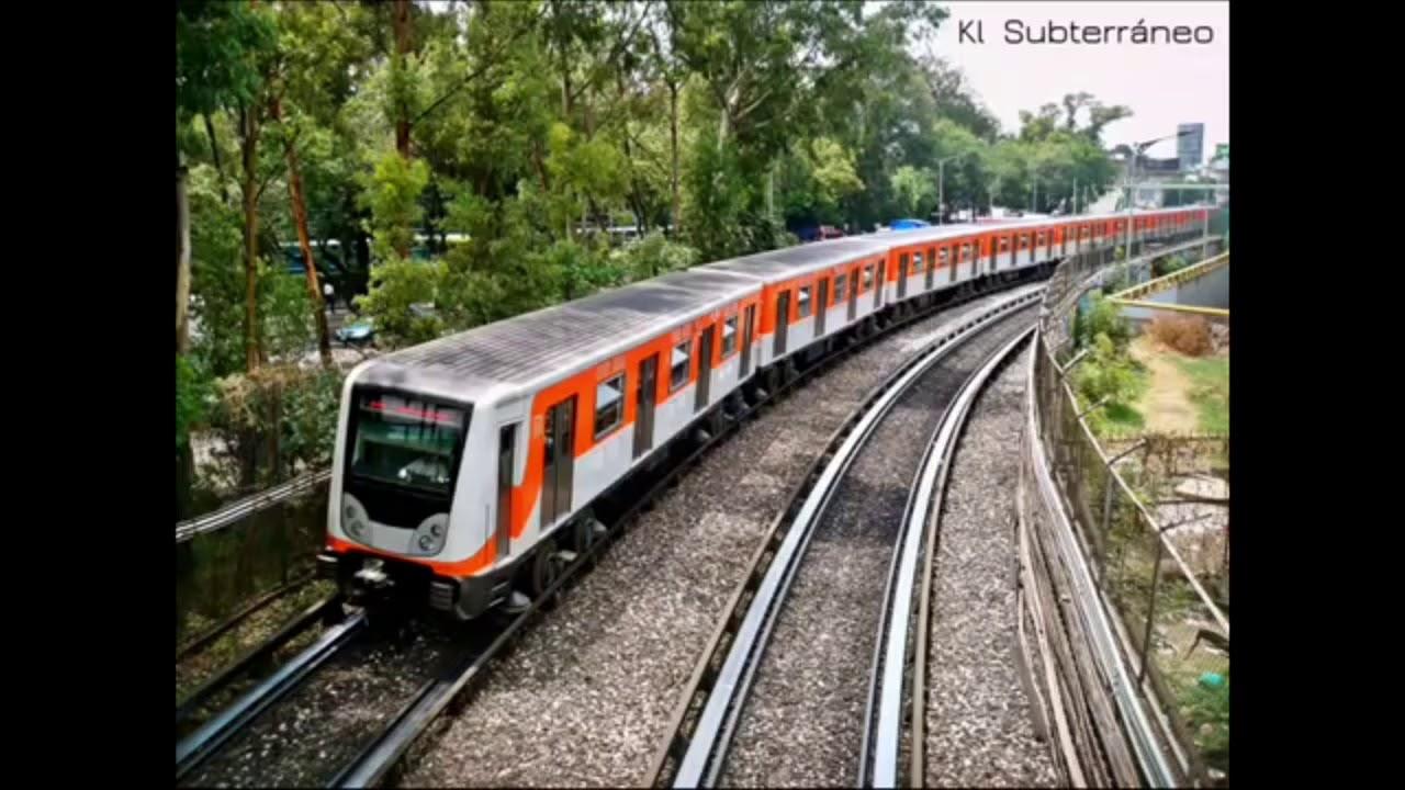 """Metro DF NM-02 Anuncia """"Próxima estación"""" (De Regresó)"""