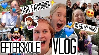 EN WEEKEND PÅ OURE EFTERSKOLE - VLOG