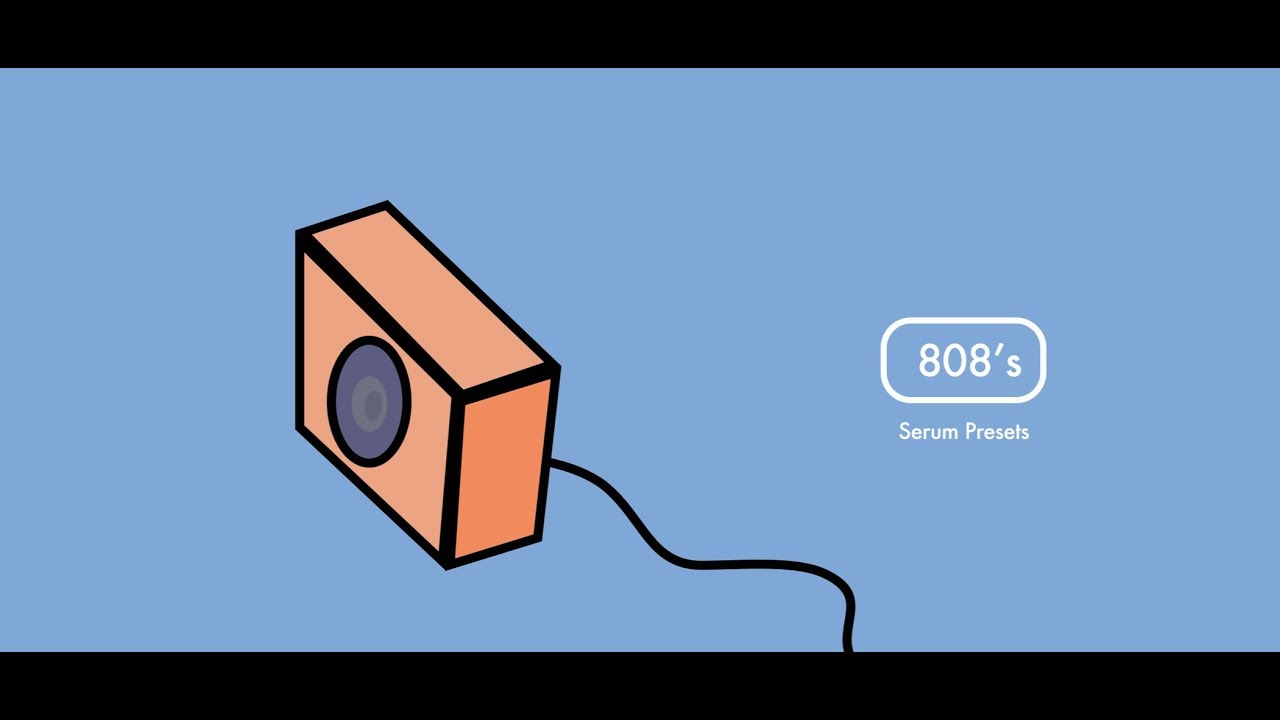 Hip Hop & Trap 808 Drum Kit Serum Presets Pack + Tutorial