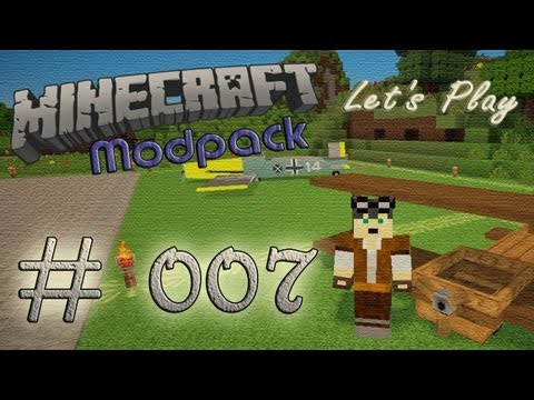 Minecraft Let's Play [Modpack][HD][Deutsch] #007 - Neuland