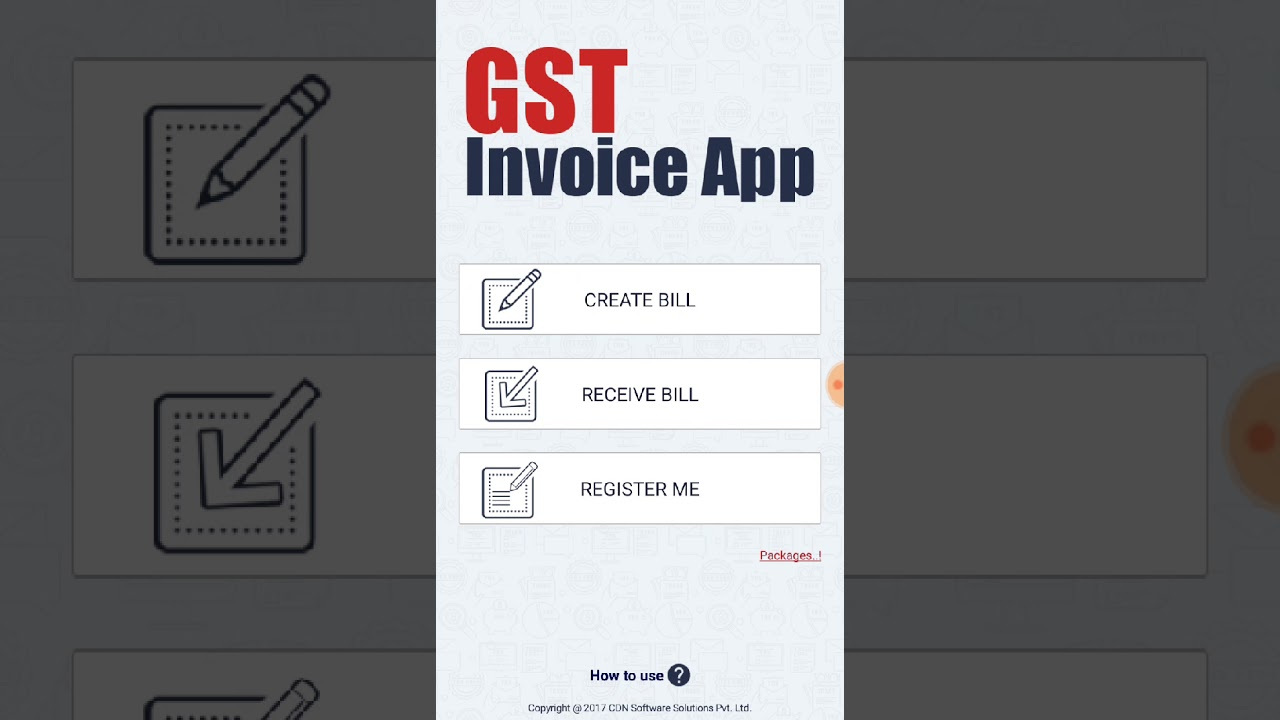 How to See Invoices in GST invoice app   YouTube How to See Invoices in GST invoice app