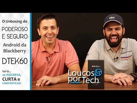 Unboxing Blackberry DTEK 60