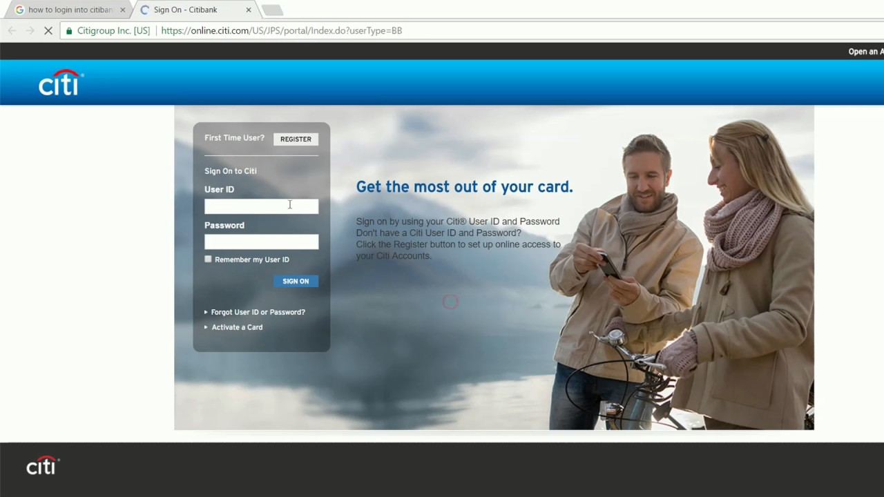 Citibank Online Sign In >> How To Login Into Citibank Online Banking Account United States