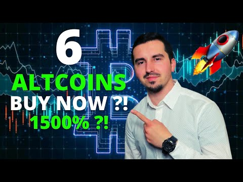 Top 6 Altcoins I'm Buying Now Ready to Explode 🚀 | CRYPTO May 2021|  Massive Pot