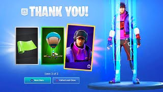 3 FREE ITEMS just added to Fortnite..