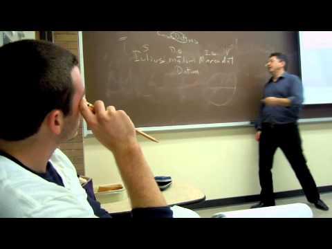 First-Semester Latin Teaching Demonstration