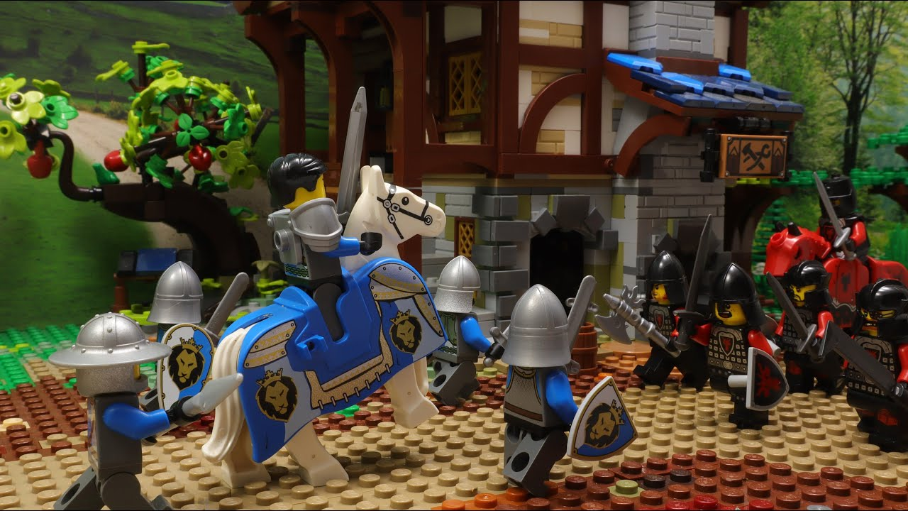 Lego Medieval Castle War Episode 13 Stop Motion Animation