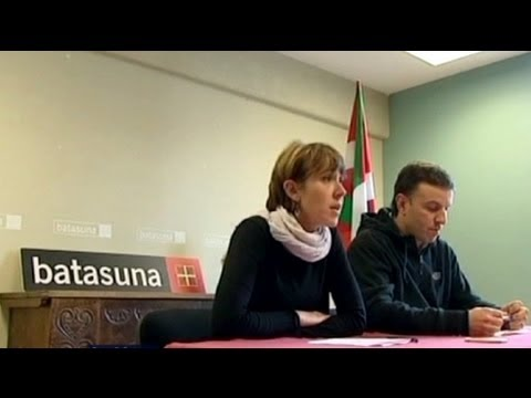 """French minister says """"not my decision"""" over Batasuna arrest"""