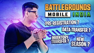 Battlegrounds Mobile India 🇮🇳 Pre - registration ? | clearing Doubts