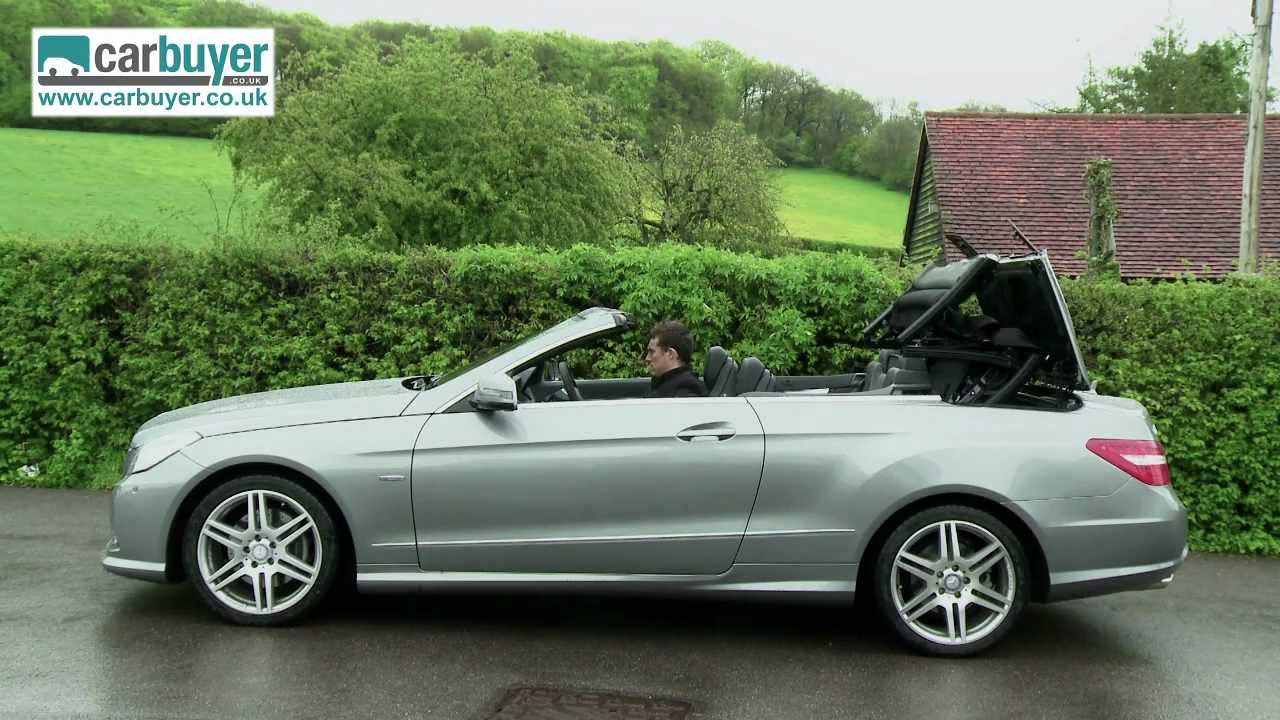Mercedes E Class Cabriolet 2009 2013 Review Carbuyer Youtube