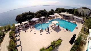 Luna Island Hotel from air
