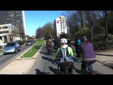 Critical Mass Essen - März 2011