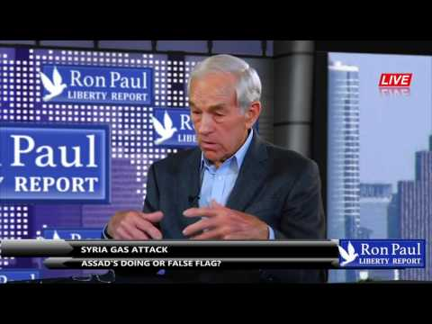 Ron Paul on Syria gas attack & St Petersburg Metro Bombing