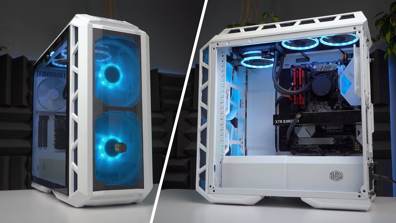 Best Airflow Case 2020.Best Airflow Pc Case Fixes High Temps Cooler Master H500m Review