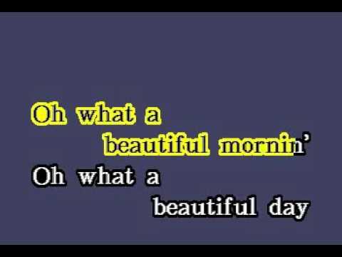 DK093 16   Oklahoma   Oh, What A Beautiful Mornin' [karaoke]