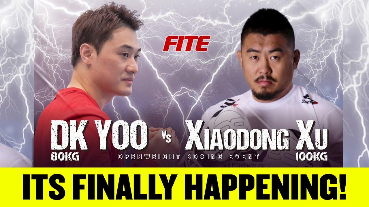 DK YOO vs XU XIAODONG IS FINALLY HAPPENING! FIGHT ANNOUNCEMENT!