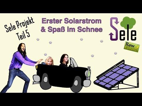 Vegane Rohkost im Winter und eine erste Solarstrom Anlage!