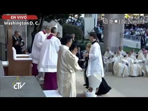 Santa Misa y canonización del beato Junípero Serra