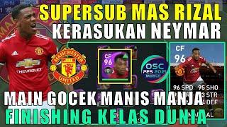 THE SUPER SUB MAS RIZAL KERASUKAN NEYMAR MAIN GOCEK TENDANGAN MEMATIKAN EFOOTBALL PES 2021 MOBILE