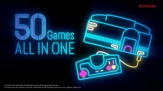 TurboGrafx-16 mini Lineup Trailer