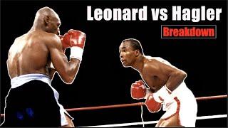 The Super Fight Explained - Sugar Ray Leonard vs Marvin  Hagler   Fight Breakdown