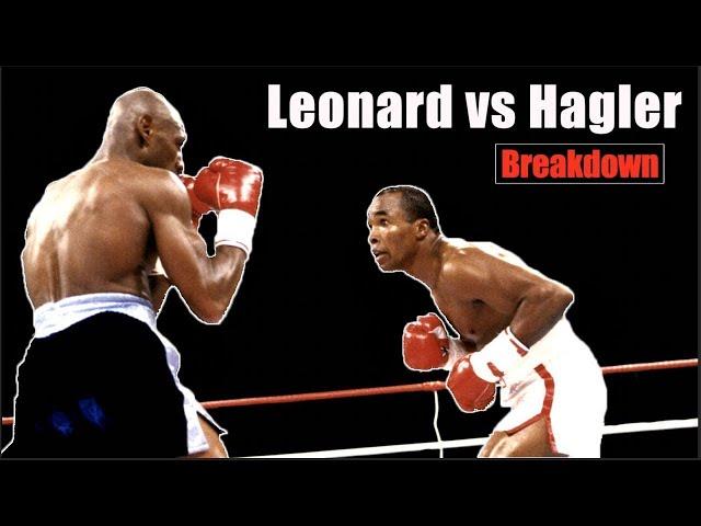 The Super Fight Explained - Sugar Ray Leonard vs Marvin  Hagler | Fight Breakdown