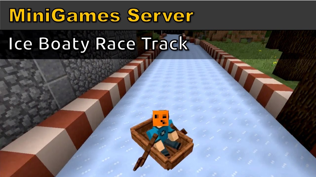 Minecraft Ice Boat Race Track Gamer Geeks In minecraft, there are two ways to add blue ice to your inventory. minecraft ice boat race track gamer