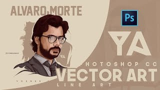 Photoshop Cc Tutorial   Vector Art - La Casa De Papel