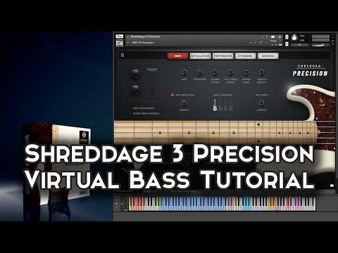 Shreddage 3 Precision: Virtual Bass Overview and Walkthrough