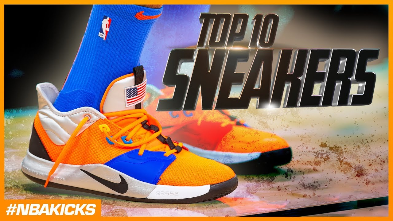 Top 10 Sneakers in the NBA #NBAKicks - Week 13