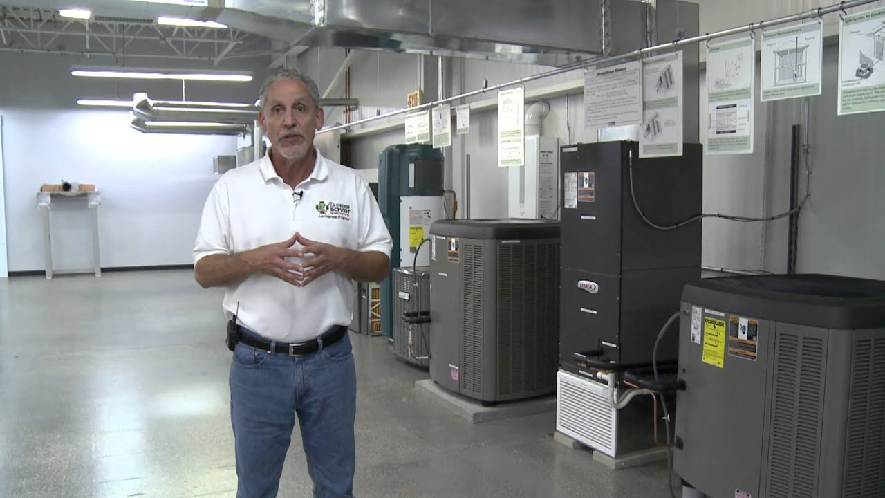 Hvac Contractors Join Dr Energy Saver At Acca Building