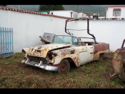 Autos antiguos y cl sicos abandonados forgotten cars - Apliques de pared clasicos ...