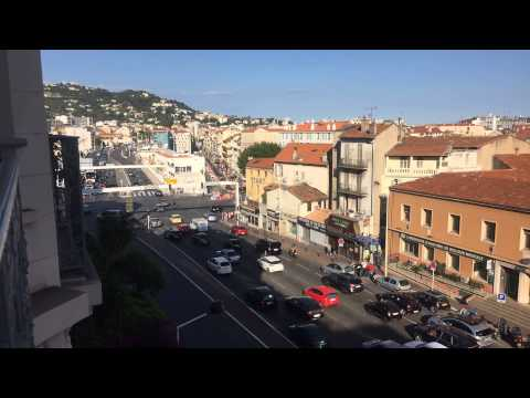Cannes Morning Time Lapse