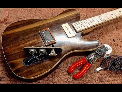 telecaster build part xxviii wiring humbucker p90 1 volume 1 tone rh youtube com  gibson p90 pickup wiring diagram