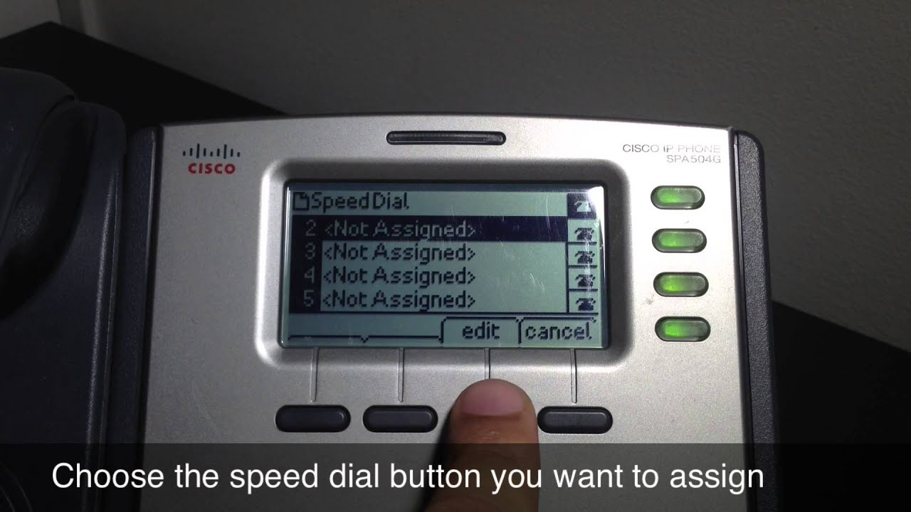 Monmouth Telecom: How to Set up Speed Dial