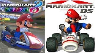 Mario Kart 8 Deluxe, Then Mario Kart DS Let's Play Part 1!