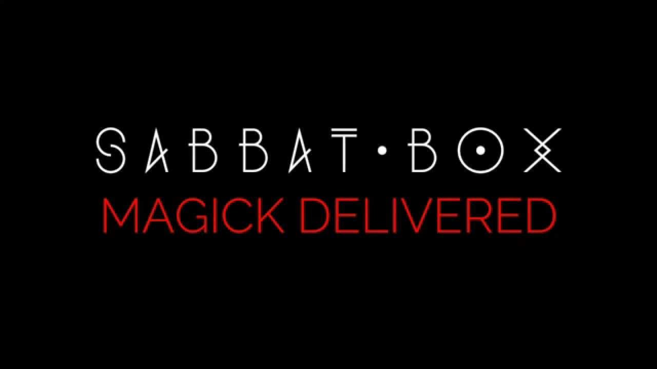 Sabbat Box-A Witch Subscription Box For Wiccans and Pagans Each Sabbat