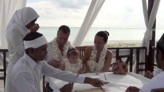 Свадьба Ольги и Сергея на Мальдивах