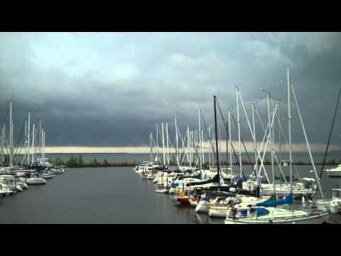 Bayfield Storm, June 16th, 2012. Port Superior, Wisconsin