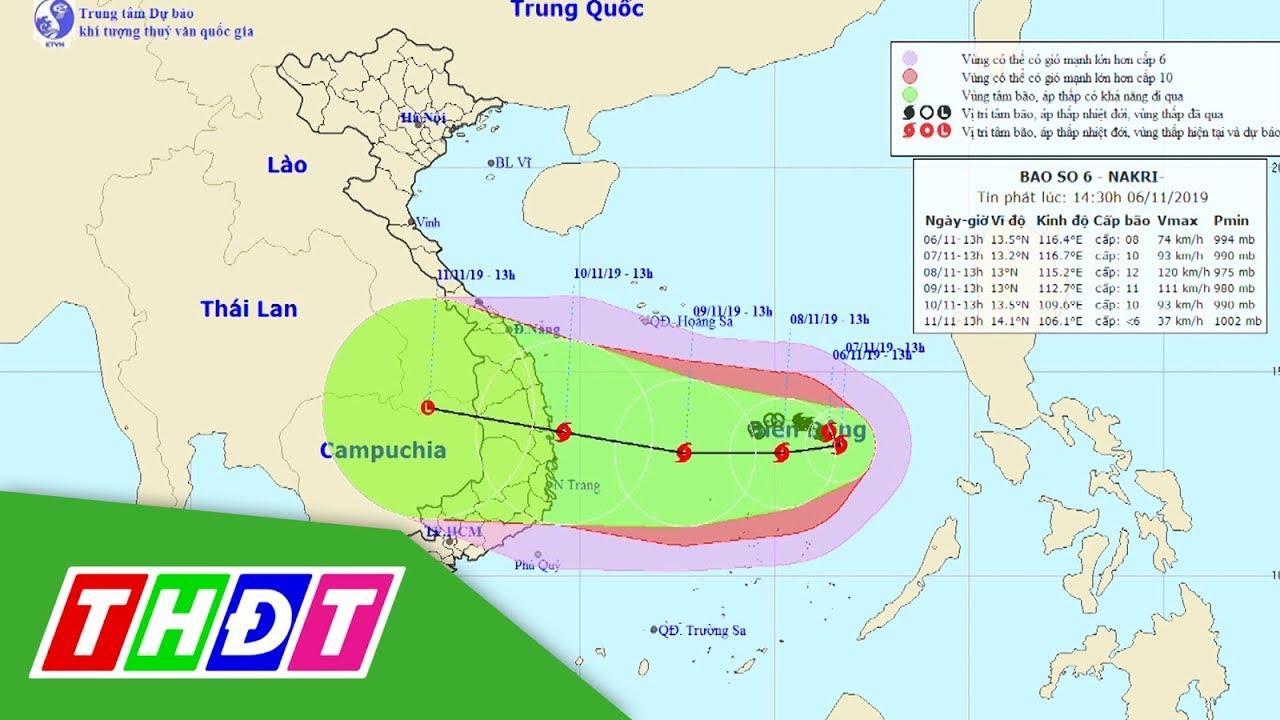 Bão số 6 sẽ tăng cấp nhanh, quay đầu hướng về Việt Nam   THDT