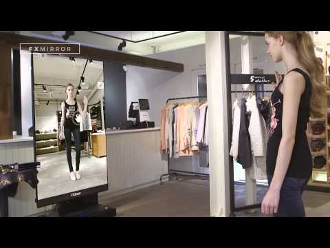 FXMirror_3D Virtual Fitting Solution