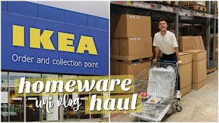 uni vlog: IKEA trip + university homeware haul
